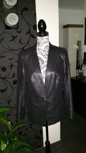 Blazer#chic#glitzer#effect#black