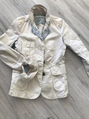 Closed Short Blazer gold-colored cotton