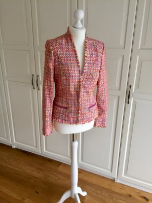 Comma Tweed blazer veelkleurig