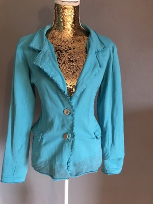 Sweat Blazer light blue