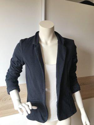 Takko Jersey Blazer dark blue