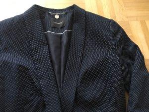 Blazer dunkelblau mit weißen Punkten