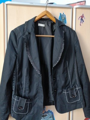 Bonita Jersey Blazer white-black