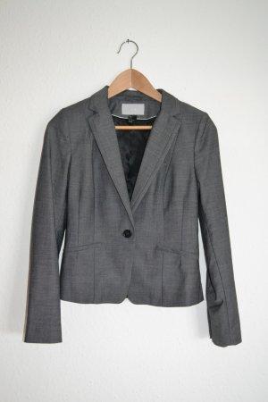 Blazer elegant grau anthrazit H&M 36