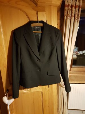 Esprit Boyfriend Blazer black mixture fibre