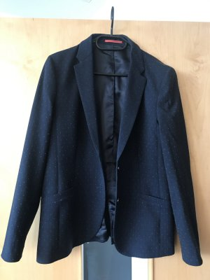 Gant Wool Blazer white-dark blue
