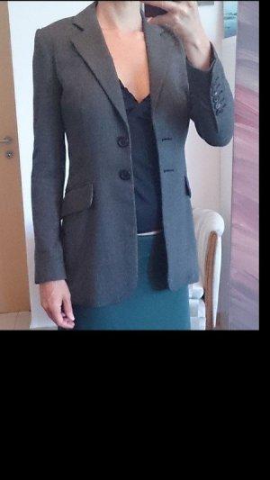 Oui Set Tailcoat grey
