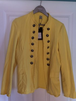 17&co Jersey Blazer yellow