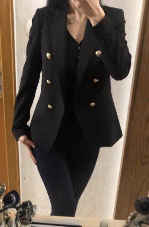 New Look Blazer de esmoquin negro