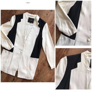 YAS Blazer natural white-black