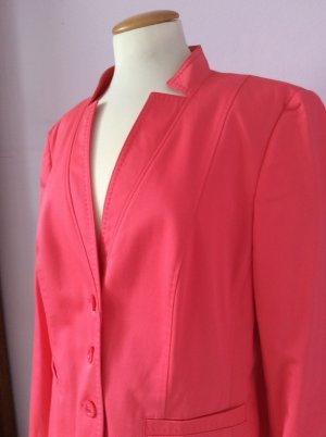 Basler Short Blazer raspberry-red-bright red mixture fibre