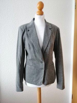 Blazer grau meliert Vero Moda Anzug Knöpfe Jacket