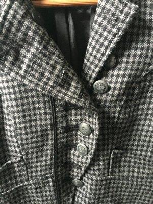 Blazer grau-schwarz S
