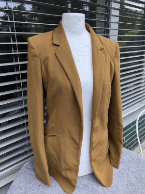 H&M Blazer largo color bronce-ocre