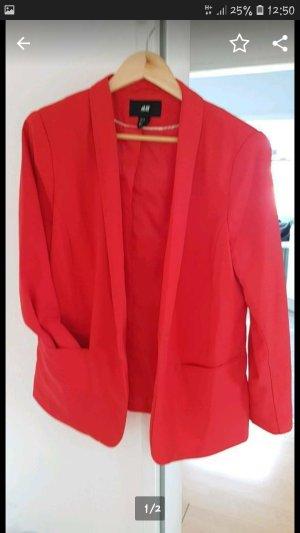 H&M Unisex Blazer red