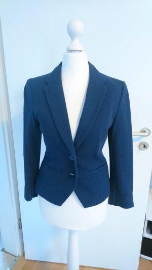Blazer H&M Gr. 36 dunkelblau Jerseyblazer blau Gr. S