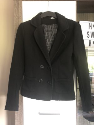 H&M Divided Blazer sweat noir coton