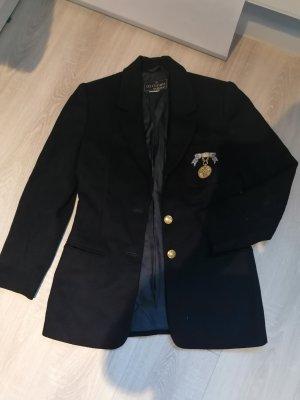Blazer Herbst Wollblazer Vintage Uniform 38 Jacke