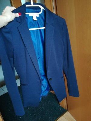 Sweat Blazer dark blue