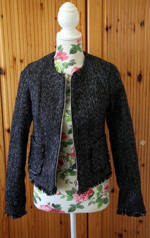 Blazer im Tweed-Design