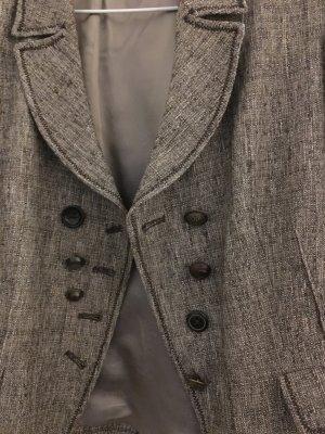 Vera Varelli Tweed blazer veelkleurig Gemengd weefsel