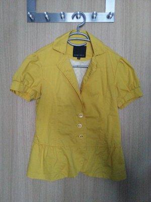 Blazer in gelb von Amisu in Größe 38