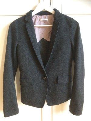 Blazer in grau von Esprit mit Wolle