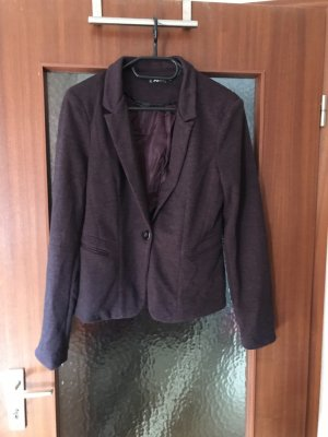 FB Sister Tuxedo Blazer dark violet