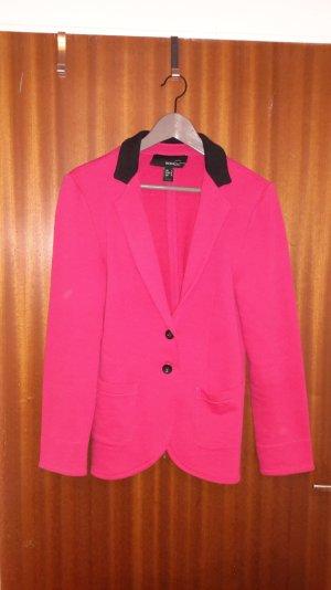 Blazer in pink aus Baumwolle