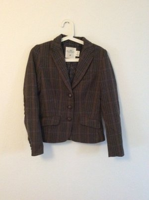 H&M L.O.G.G. Wool Blazer dark brown-brown