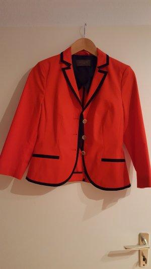 blazer in rot mit schwarzen streifen von s.oliver