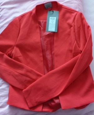 blazer in Rubin rot von vero moda