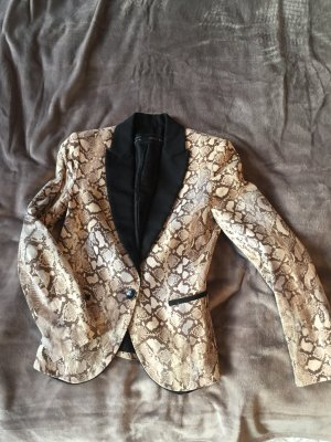 Blazer in Schlangenprint