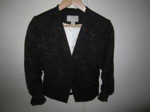 Blazer in sw von H&M mit Muster