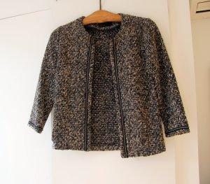 Minimum Tweed blazer veelkleurig