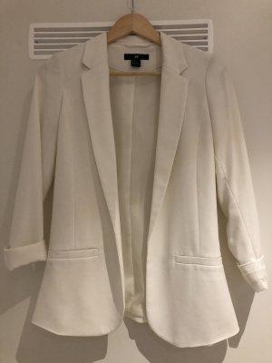 H&M Blazer long blanc