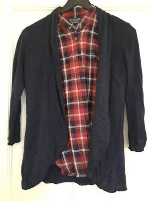 Blazer Jacke aus leichtem Leinenstoff S
