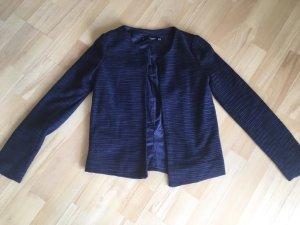 Blazer Jacke Cardigan Jäckchen von MANGO Gr. 34 / XS dunkelblau blau