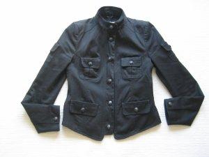 blazer jacke drykorn gr. s 36 schwarz neuwertig