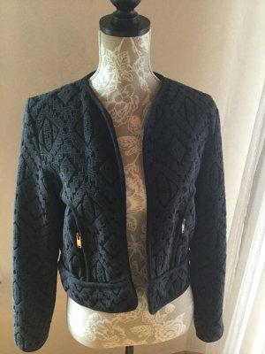 Blazer / Jacke dunkelblau schwarz Gr. M von Mango