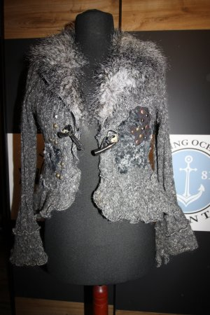 Knitted Blazer grey