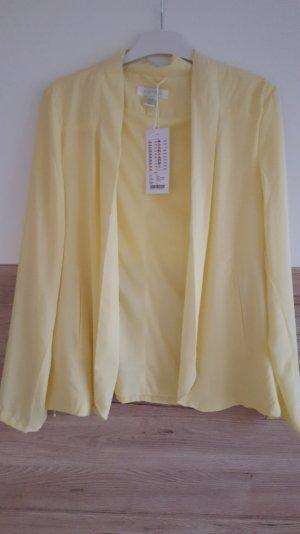 Blazer/ Jacke in Gelb in Größe M