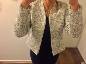 Blazer Jacke Jackett Ethno Muster Geometric Style tailliert mit Reißverschluss