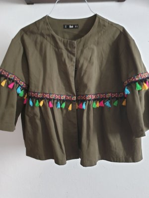 Blazer Jacke mit Quasten Größe M Top Zustand