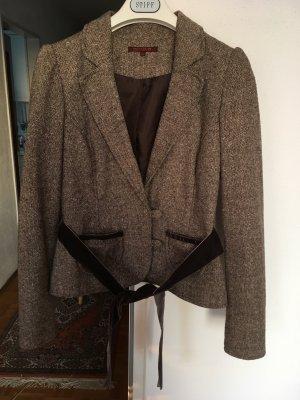 Blazer Jacke mit Seitentaschen und Gürtel
