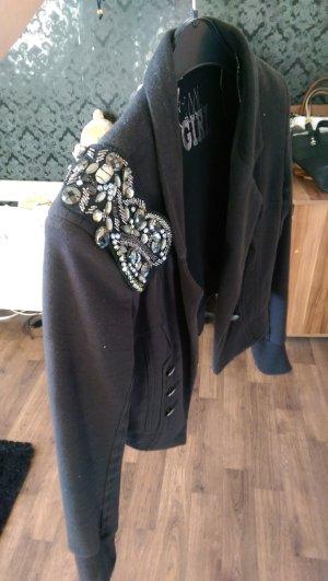 blazer Jacke mit steinchen