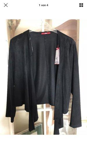 Blazer - Jacke mit Wasserfallkragen