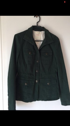 Esprit Denim Blazer forest green-khaki