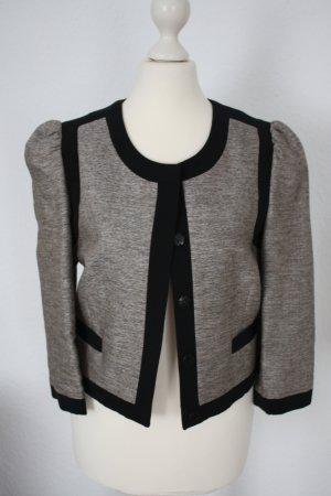 Blazer Jacke silber schwarz H&M Gr. 34