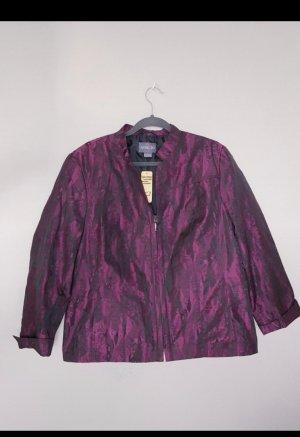 Blazer Jacke, Übergröße, Übergangsjacke, Fuchsia